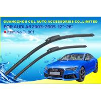 Front Window Auto Wiper Blades For Audi A4 A6 With Grade A Rubber Refill Manufactures