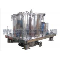 Buy cheap Peony High quality Stainless steel GMP standard Scraper Basket Centrifuge With Siemens PLC Programming from wholesalers
