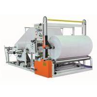 Automatic Jumbo Paper Roll Slitter Rewinder Electronic Speed Regulation Manufactures