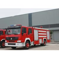 4X2 LHD Fire Fighting Truck SINOTRUK HOWO 10CBM 290HP for Sprinkling Manufactures