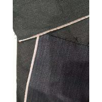 Selvage Corduroy Cotton Navy Denim Fabric  Soft Touch 13.2oz W2992-2 68*41 Density Manufactures