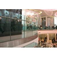 Shopping Mall Toughened Railing Glass High strength Max 1830 x 2440 mm Manufactures