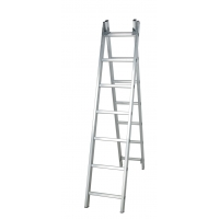 Silver 6.24m 2x13 Foldable Extension Ladder Manufactures