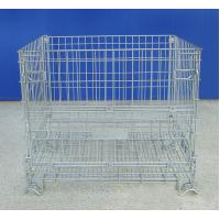 High Visibility Industrial Wire Container  Electrozinc Plated Finish Manufactures