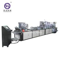 High Speed sealing cutting plastic zipper bag making machine with slider Manufactures