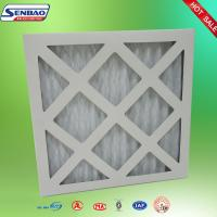 Cheap G3 Cardboard Frame Pleated Panel Pre Air Filters for Ventilation System for sale
