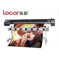 China Eco Solvent Digital Textile Printer , Wide Format Sublimation Printer 64 Inch on sale