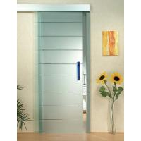 Interior Door Silkscreen Printing Tempered Clear Glass , Decorative Tempered Glass Manufactures