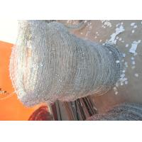 Q195 High Tensile Barbed Wire , Double Strand Barbed Wire For Security Fence Manufactures