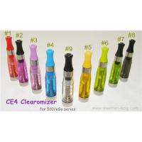 CE4 Transparent Clearomizer For eGo Series Battery Manufactures