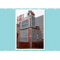 Rack / Pinion Construction Material Hoist Lifting Equipment 40M / Min Speed Manufactures