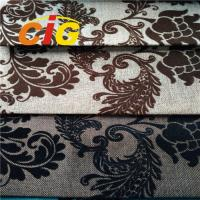 100% Polyester Sofa Upholstery Fabric Flame Retardant 30m - 50m/Roll Manufactures