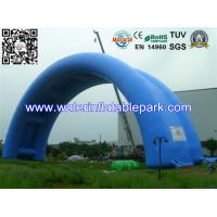 Quality Waterproof PVC Tarpaulin Inflatable Tent / Inflatable Arch Tent With Big Span for sale