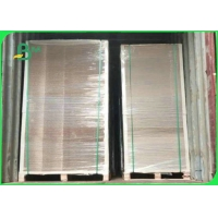 Recyclable Material Grey Board In Sheet 0.4mm - 2.5mm For Ring Binders Manufactures