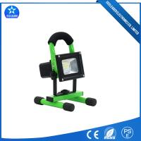 Touching Emergency 10W Rechargeable Working LED Flood Light For Work Shop