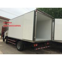 China Sinotruk Howo7 brand 10T Light Duty Commercial  Refrigerator Freezer Truck 4x2 for Meat and milk transport on sale