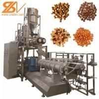 China 2-3t/H Dry Pet Food Processing Line Adopts Corn Flour Raw Materials on sale