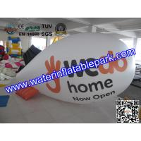 Helium Blimp Inflatable Advertising 0.18mm PVC OEM with 5 Years Warranty Manufactures