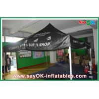 Black Outdoor Folding Tent  , Giant Waterproof Tent With Aluminum Frame Manufactures