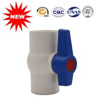Buy cheap White PVC Valve Water Supply Fittings PVC Ball Valve For Water System from wholesalers