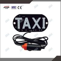 China Waterproof 45pcs led car daytime running light car led logo taxi roof top signs on sale
