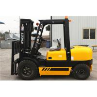 4 Tonne Four Wheel Drive Forklift , Double Mast Forklift With Fork Positoner Manufactures