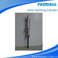 Steel splitting cylinderof  Hydraulic Stone Splitter for Drilling Manufactures