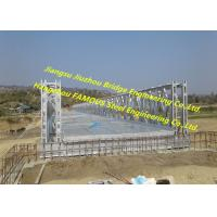 Road Steel Structure Bridge Portable Pre Engineered Q345B Durable Industrial Manufactures