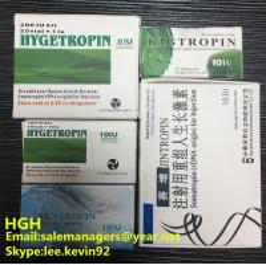 99% Purity Hygetropin Growth Hormone 200iu 25 Vials / Kit 2 Years Shelf Life Manufactures