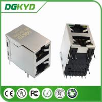 100base 2-Port  2 X1 RJ45 female Jack with internal Transformer with LED for Network Switch