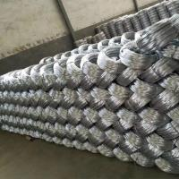 Zinc coating 0.9mm 20 Gauge Hot Dip Galvanized Iron Wire for Mesh Weaving Manufactures