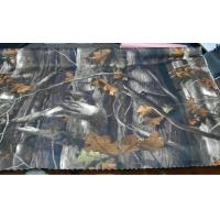 500D*500D 75T oxford fabric with forest printing  PU coating Manufactures