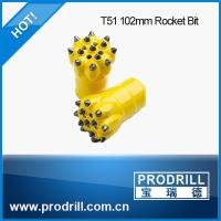 Drilling rock tools T38 T45 T51 102mm rocket drill button bit Manufactures