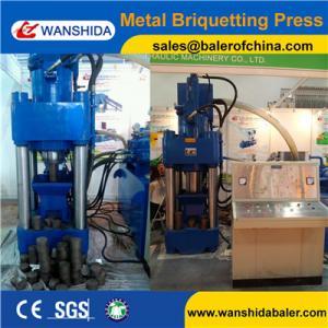 China Y83-5000 hydraulic metal aluminum copper scrap sawdust chips briquetting briquetter press machine on sale