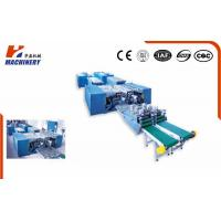 Floor Pur Laminating Machine To Stick Film Or Decorate Paper For Plywood Or MDF Board Manufactures