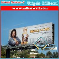 China Double Side Advertising Unipole Structure Billboard Display on sale