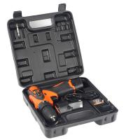 12V 1.5Ah Lithium Cordless Electric Drill with Flashlight and Battery Indicator