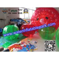 Amusement Park Inflatable Body Bumper Ball Human Sized For Soccer Play Manufactures