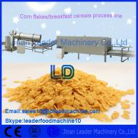 380v  / 50Hz  Automatic Corn Flakes Making Machine for Breakfast Cereal