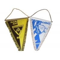 World Cup Wall Hanging Banner , Football Club Table String Hanging Pennants Manufactures