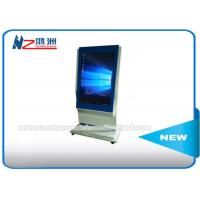 Cheap Windows 7 Interactive Information Free Standing Kiosk For Indoor Supermarket 42 Inch for sale