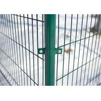 high quality Galvanized /PVC coated welded wire mesh fence panels Manufactures
