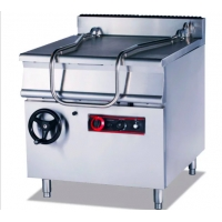 Stainless Steel 220V Tilting Braising Pan Standing Oven Manufactures