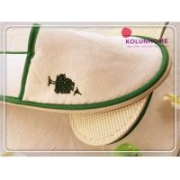 HOT SALE Polyester Velour Wholesale hotel slipper woman slipper Manufactures
