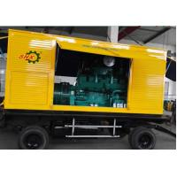 375KVA Portable Electric Power Mobile Diesel Generators With Soundproof Canopy Backup Power Manufactures