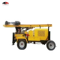 150m Truck Mounted DTH Water Well Drilling Rig Manufactures