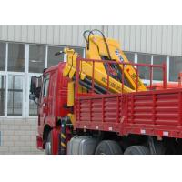 Cheap High Quality  Mobile Commercial 6.3T Knuckle Boom Truck  Mounted Crane with hydraulic arms  For Safety Transport for sale