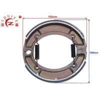 200CC Off Road Spare Parts Drum Brake Shoes 0.5T Loading Manufactures