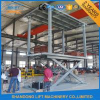 China Hydraulic Mobile Electric Car Lift For Garage on sale