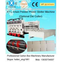 Cheap Auto Chrome Carton Making Machine 60pcs/min With Chain Feeding Model For Printing for sale